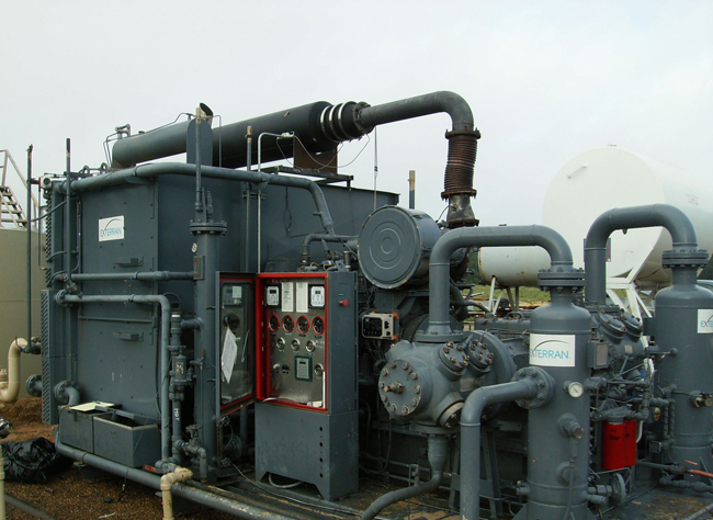 Dcl International Inc Gas Compression